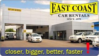East Coast Car Rentals Brisbane Airport