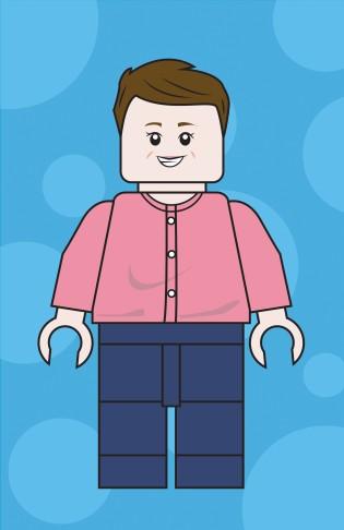 Lego avatar - Hilary