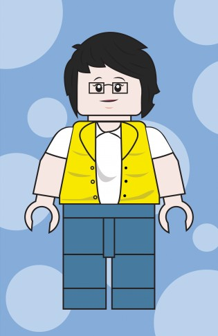 Lego avatar - Ling