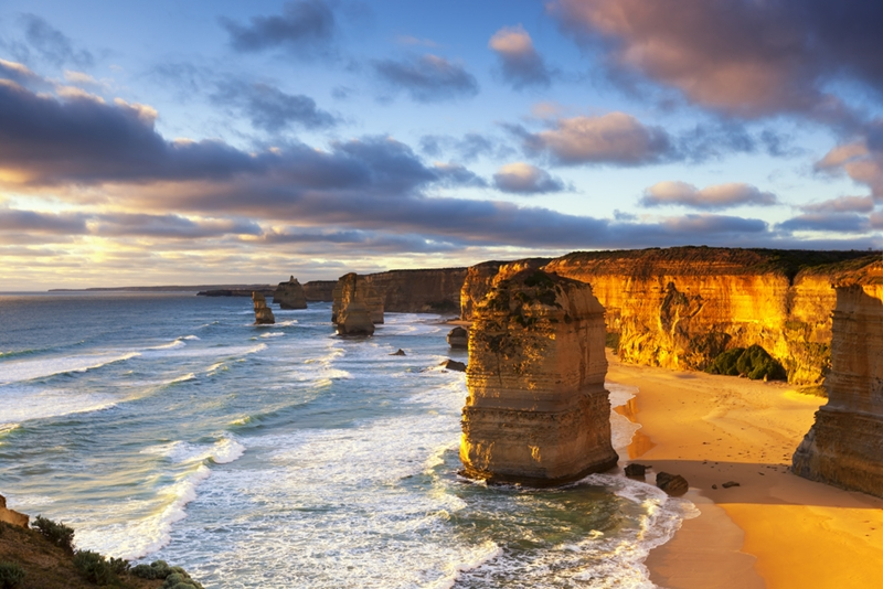 Just some of the 12 Apostles.