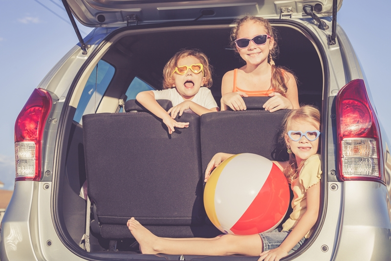 Make sure the car is ready to go before you surprise everyone with this trip.