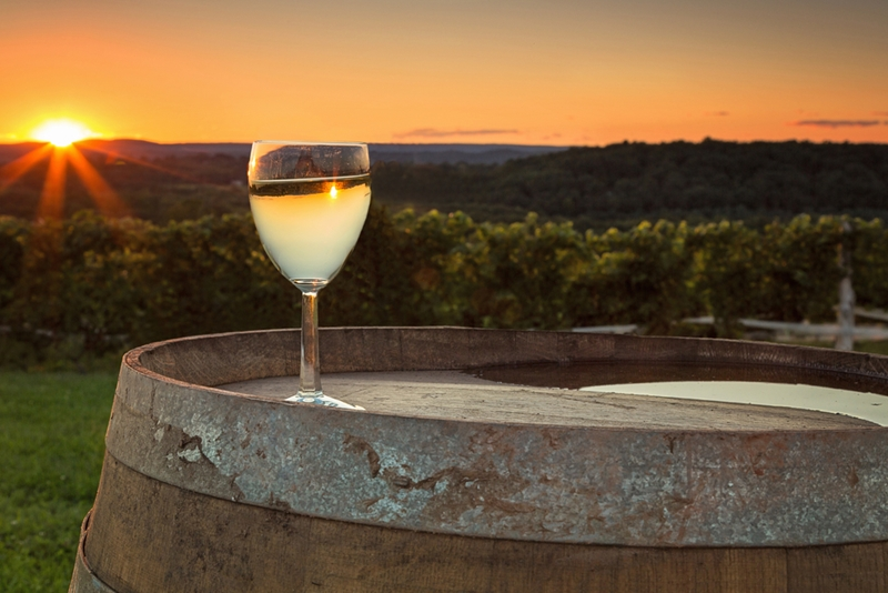 Wine country is the perfect place to start your romantic road trip.
