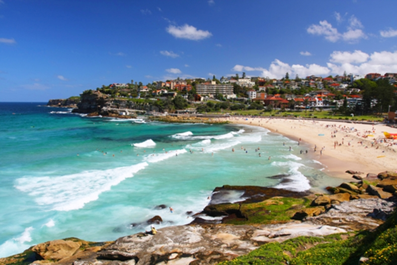 Beautiful Bondi Beach will have you wanting to pop the question - but not yet!