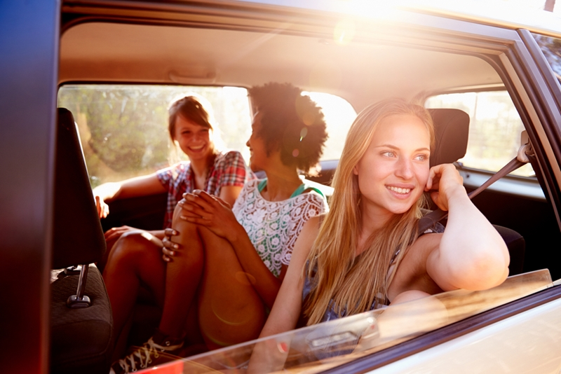 Carpooling can save you fuel and money.