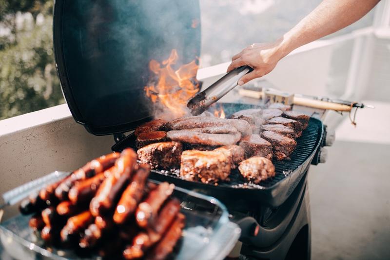 Barbecue's are enjoyed across Australia.
