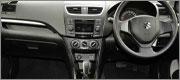 Suzuki Swift Economy Rental Vehicle Dashboard for Car Hire