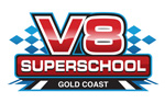 V8 Superschool Gold Coast Logo