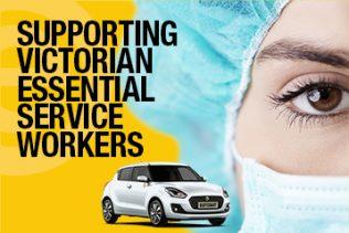 Victoria essential service worker offer
