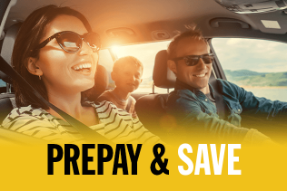 Prepay and Save All Day Every Day on your Car Hire with East Coast Car Rentals