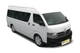 12-seater Minibus Toyota Commuter