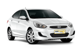 Compact Manual Hyundai Accent Sedan